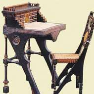 Stanowisko pracy: biurko, fotel i…