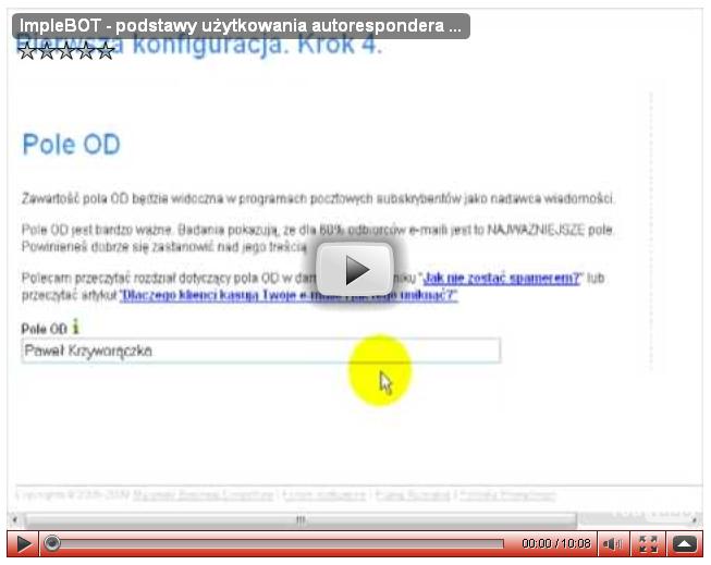ImpleBOT iFreeBOT – podstawy obsługi autorespondera