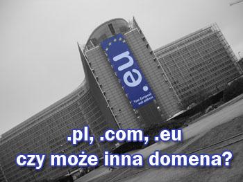 Budynek z domeną eu