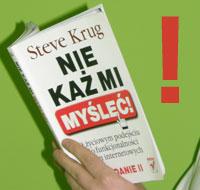 Niekaż mi myśleć – Steve Krug – recenzja krzywego