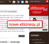 Blog oe-biznesie, czyli nowa twarz ebiznesy.pl