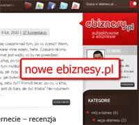 Blog o e-biznesie, czyli nowa twarz ebiznesy.pl