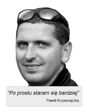 Paweł Krzyworączka iopinie ojego szkoleniach