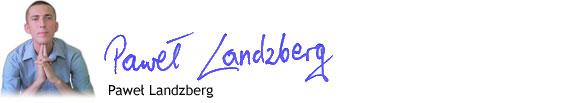 Paweł Landzberg spłodził publikację