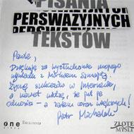Sztuka pisania perswazyjnych tekstów – Piotr Michalak – recenzja książki