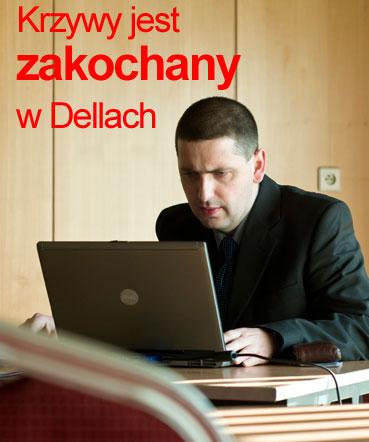 Paweł Krzyworączka uwielbia laptopy marki Dell