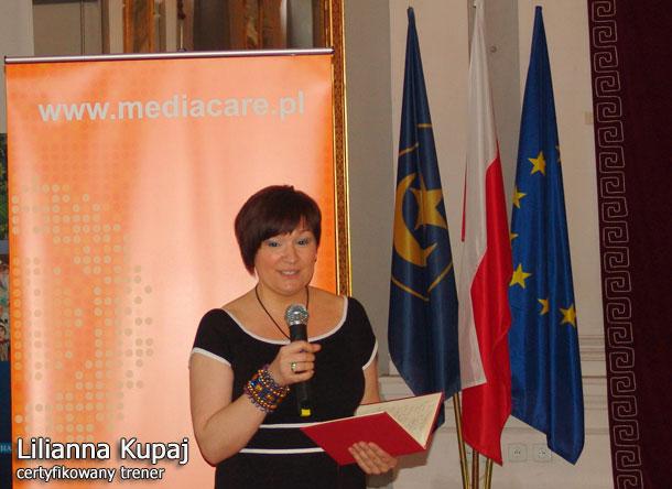 Konferencja w Tarnowie - Lila w akcji