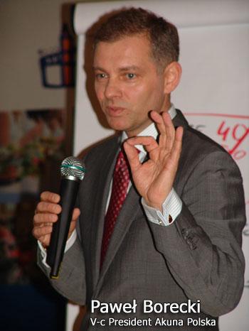 Paweł Borecki ijego prelekcja naKonferencji