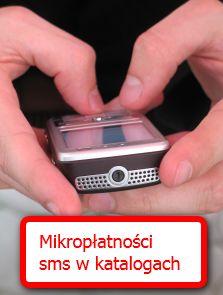 Mikropłatności sms wkatalogach