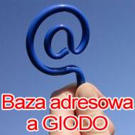 Dlaczego baza adresowa podlega rejestracji w GIODO?