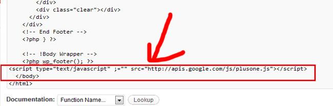 Modyfikacja footer.php wszablonie WordPressa