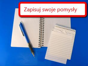 Notatnik - notuj swoje pomysły