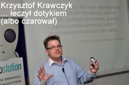 Krzysztof Krawczyk wykłada iczaruje