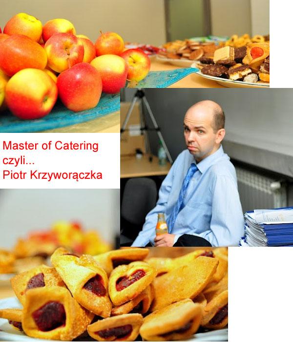 Piotr Krzyworączka w akcji