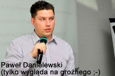 Paweł Danielewski wKrakowie