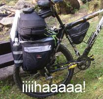 Braterska przyjaźń, przygoda, rowery, 289 km iMazury