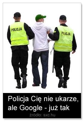 Policja czyGoogle
