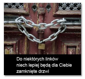 Zamknięte drzwi naseo-linki