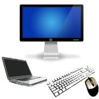 7 powodów, dlaczego warto stosować monitor zewnętrzny, klawiaturę imysz podpięte dolaptopa