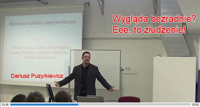 Darek Puzyrkiewicz naZjeździe Forum 2013