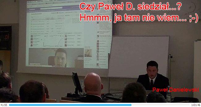 Paweł Danielewski prezentuje się doskonale