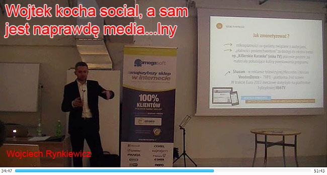 Wojciech Rynkiewicz o social media we Wrocławiu