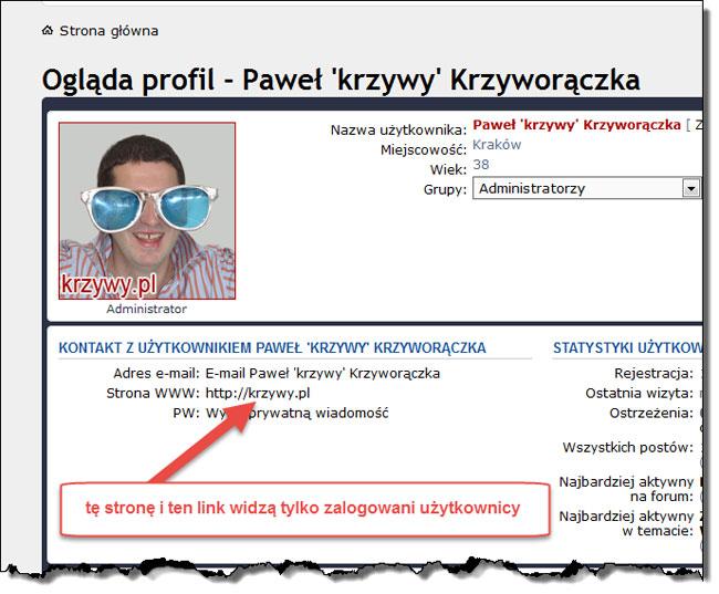 Profil Pawła Krzyworączki na Forum e-biznesu