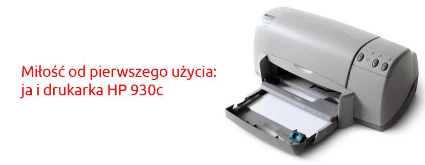 Drukarka HP Deskjet 930c