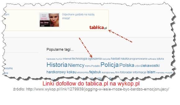 Wykop.pl promuje tablica.pl