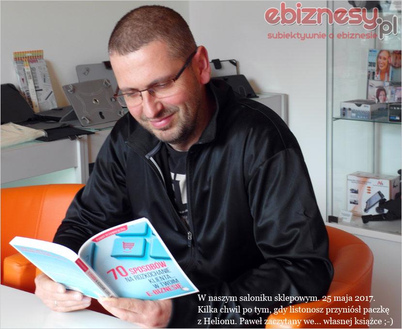 Paweł Krzyworączka - autor książki 70 sposobów naKlienta