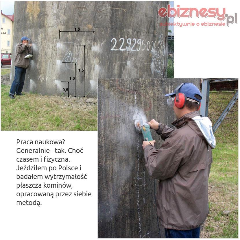 Badanie komina - Krzyworączka Paweł