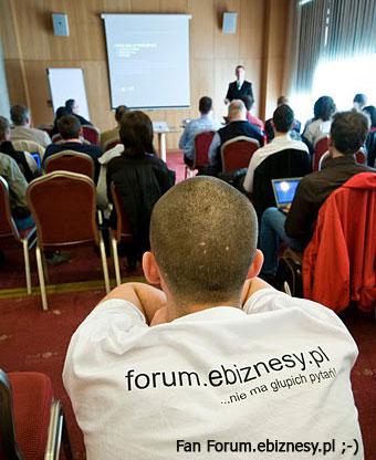 Paweł Landzberg jest fanem forum